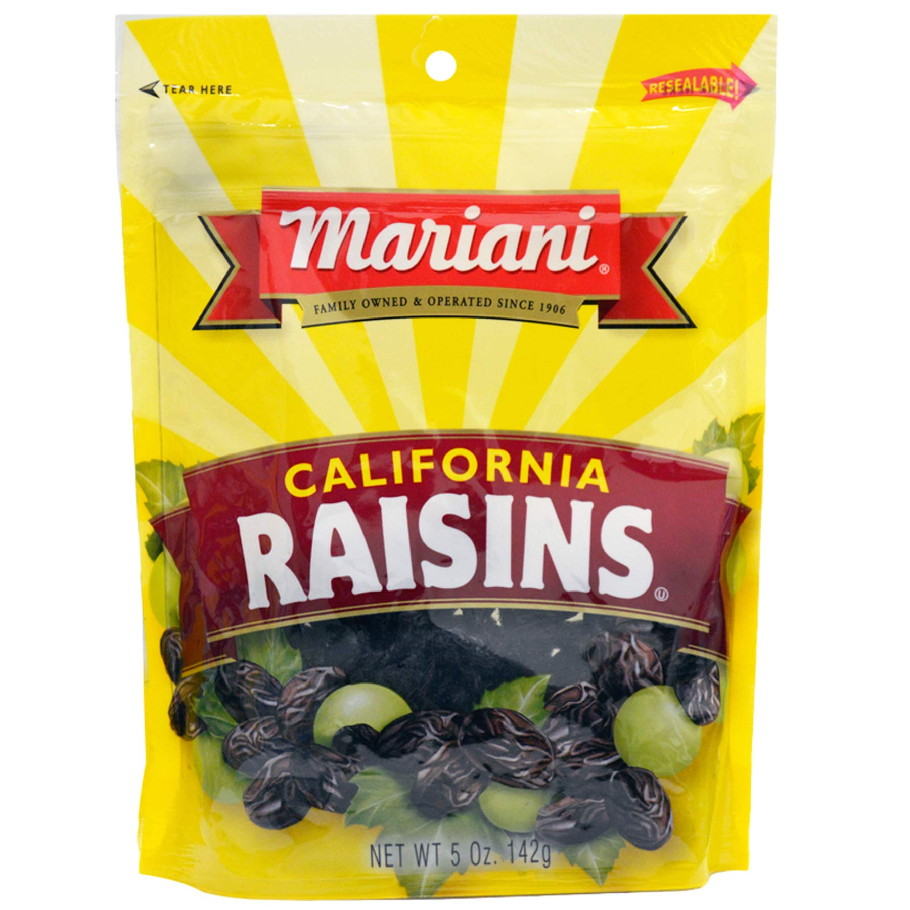(Pack of 36) Mariani California Raisins 5oz