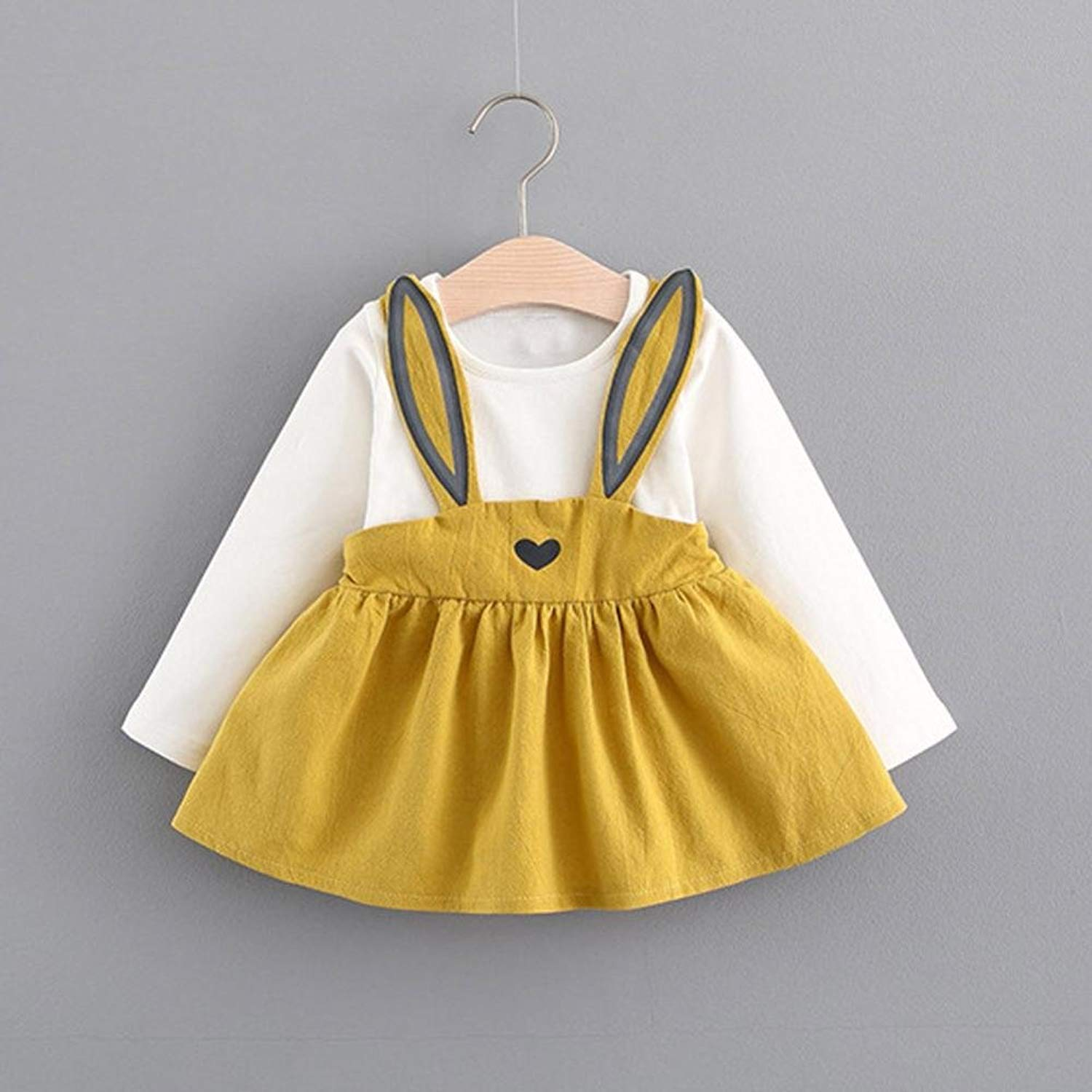 c09e21b7f 0-3 Years Toddler Baby Girls Autumn Mini Princess Dresses
