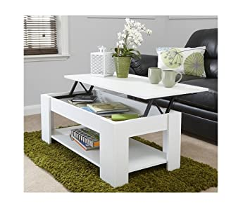 White Lift Up Coffee Table.Gb Furniture Modern Lift Up Easy Storage Coffee Wooden Espresso