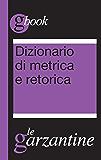 Dizionario di metrica e retorica