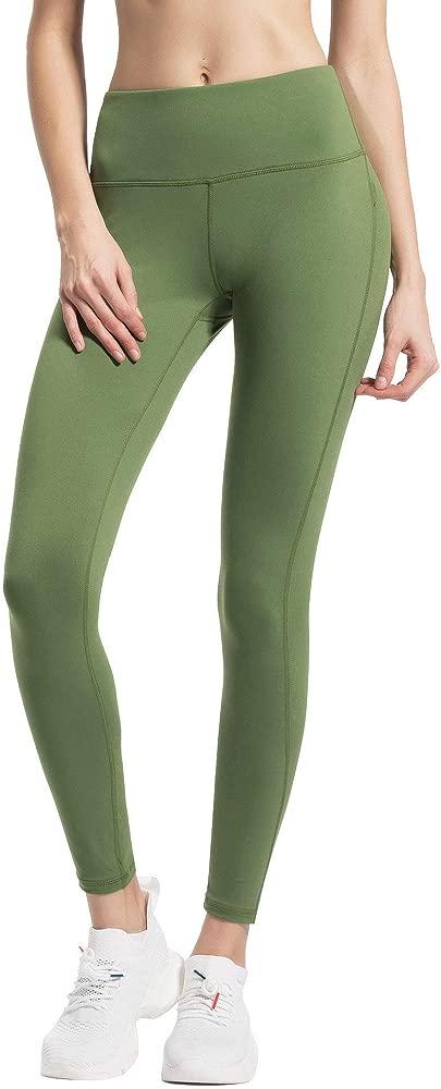 Women Yoga Leggings Tummy Control Workout Pants Running Peach Hip 8207