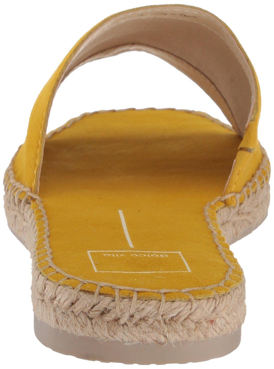Dolce Vita Women's Bobbi Slide Sandal B077QSH72N 8 B(M) US|Yellow Suede