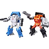 Transformers Generations War for Cybertron Golden Disk Collection Chapter 1, Autobot Road Ranger and Autobot Puffer…