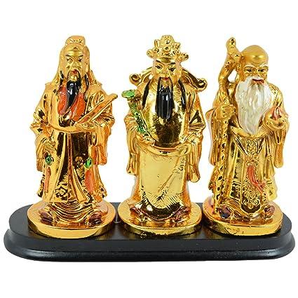 Buy Reiki Crystal Products Fuk Luk Sau 3 Wise Men And Chinese Gods
