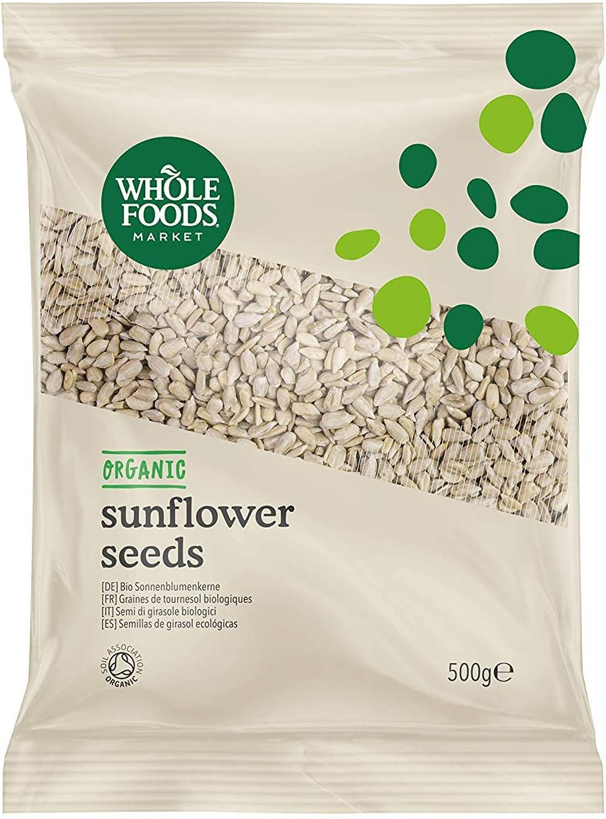 Whole Foods Market - Semillas de girasol ecológicas, 500g