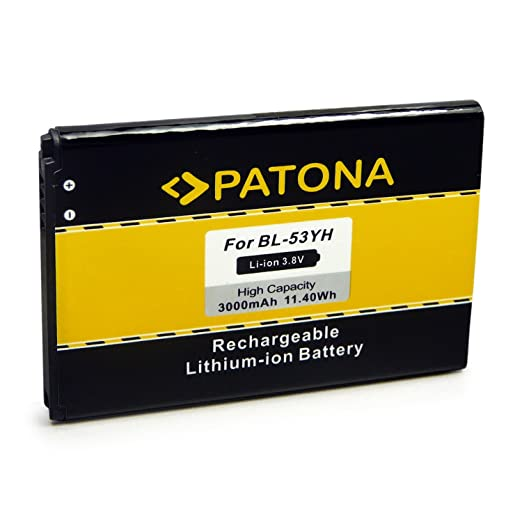 44 opinioni per PATONA Batteria BL-53YH per LG D855 | F400 | G3