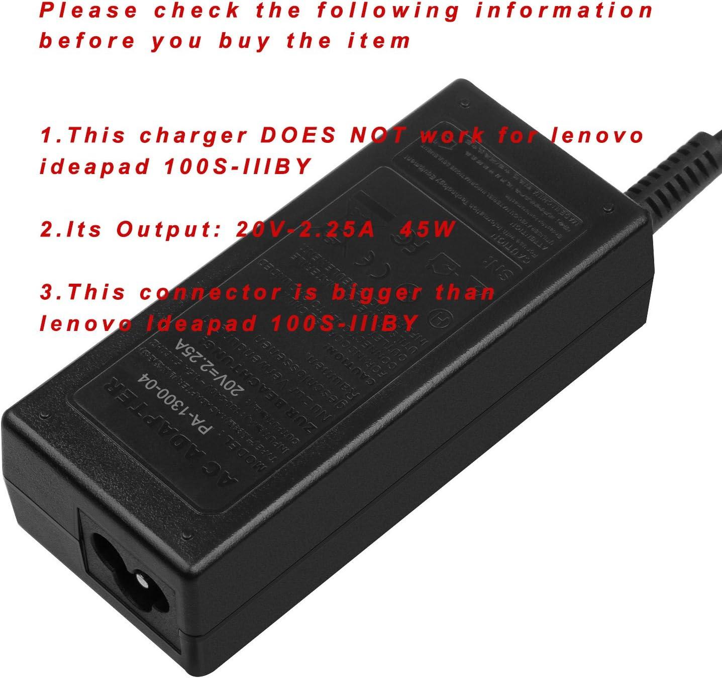 N22 120s 320s 110s 720s; 81CW 81CX; Lenovo Chromebook-100s 80QN 510s N23 310 510 20V 45W Charger for Lenovo-Ideapad 710 N42; Lenovo Yoga 710 11 14 15; Flex 4 1130 1470 320 100 710s 110