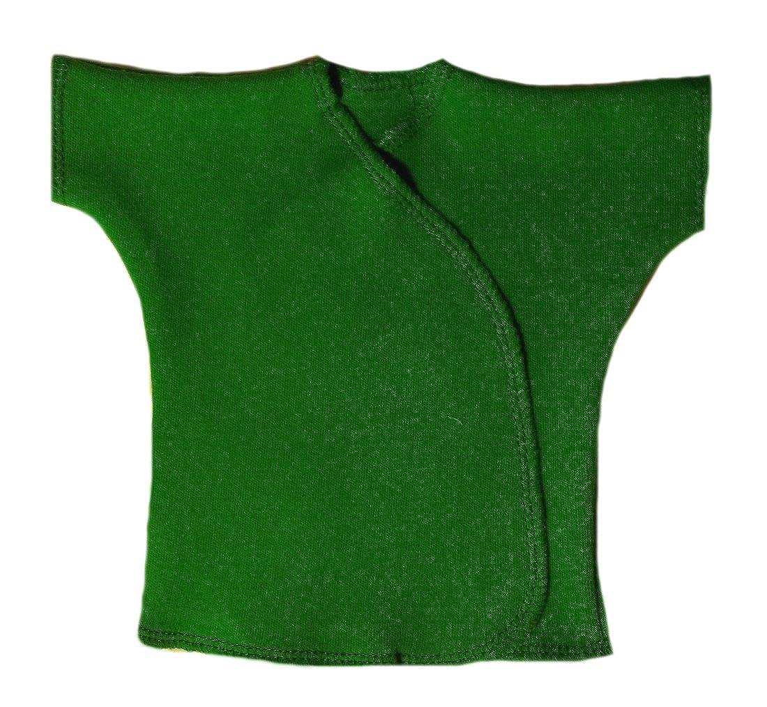 Jacqui's Unisex Baby Cotton Short Sleeve Kimono Wrap T-Shirts
