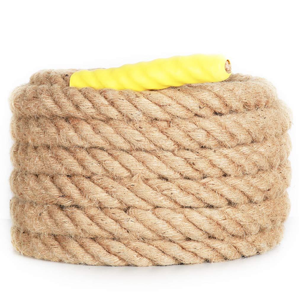 BAI-Fine Tug of War Rope 15m/20m/25m, Fun Express Training Rope Linen Wire Rope Adult Children's Kindergarten Outdoor Tug-of-war Competition Rope (Color : 15m)