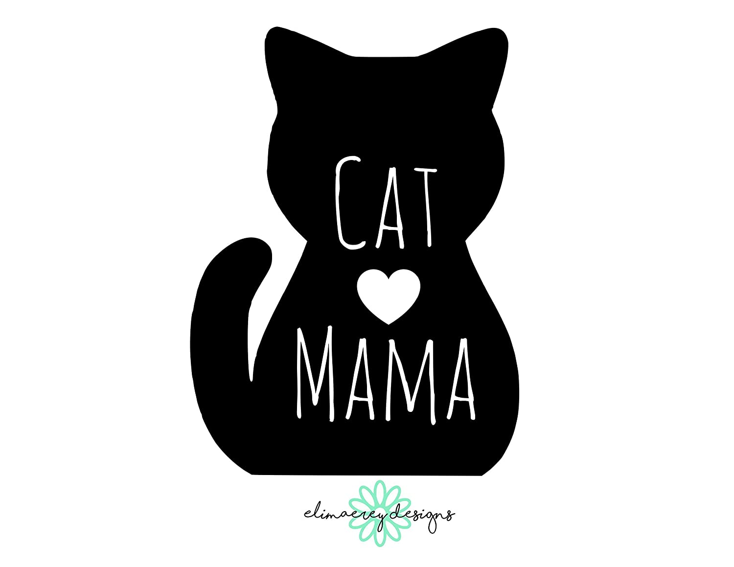 "custom gift 3/"" PERSONALIZED FAMILY CAT vinyl decal car window laptop sticker"