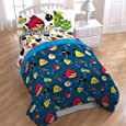 Angry Birds Twin Size 3 Piece Sheet Set Cotton Rich by Commonwealth