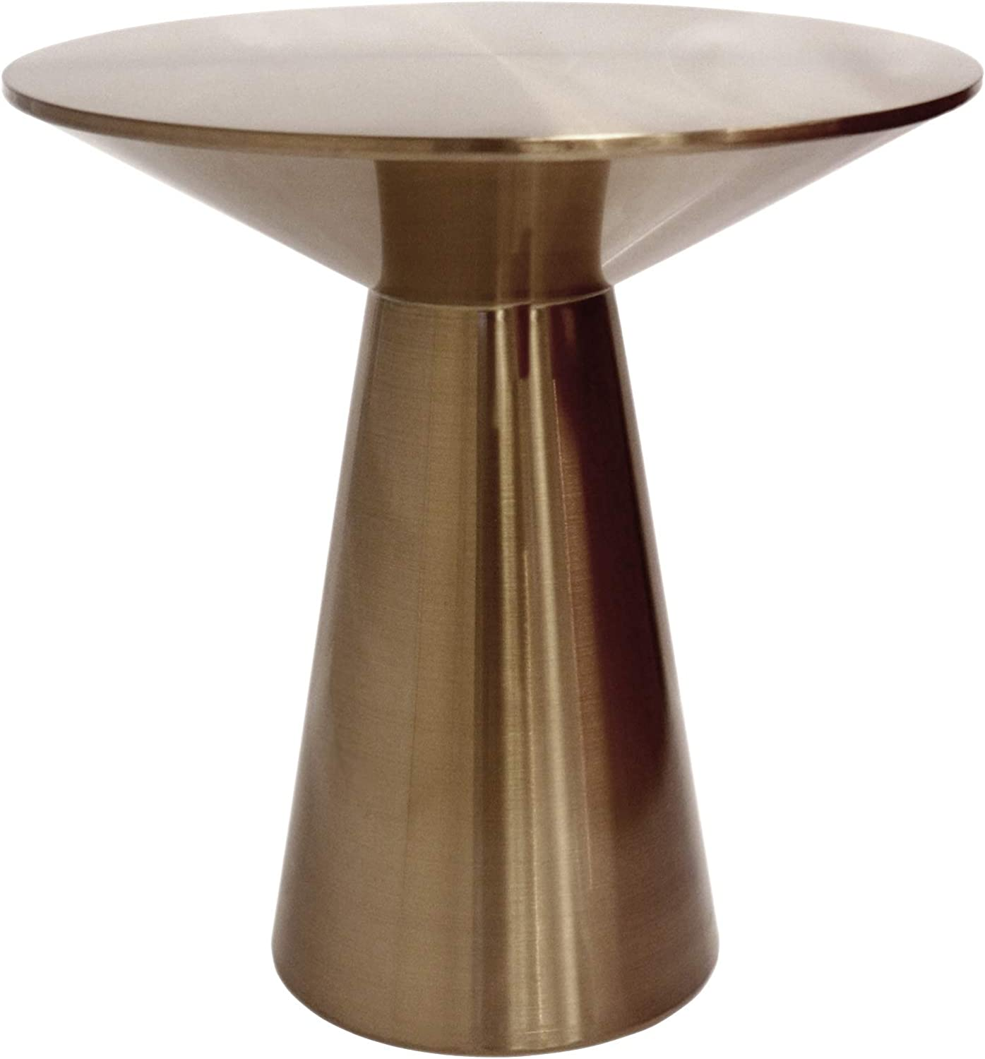 Lorenzo Collection Stainless Steel Side Table