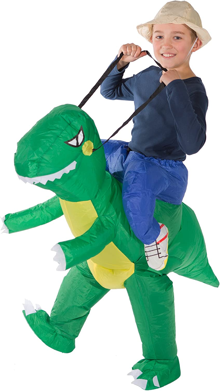 Bodysocks® Disfraz Hinchable de Dinosaurio Niño: Amazon.es ...