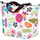 Lunch Bag Waterproof Picnic Tote Bag RALMALL Insulated Lunch Cooler Bag Lunch Holder Lunch Container Travel Zipper Organizer Box for Women Men Kids Girls Boys Adults (Type4)