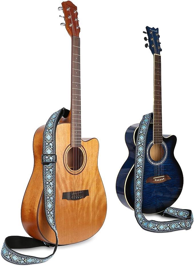 Anwenk Correa para guitarra eléctrica Correa acústica Correa para ...