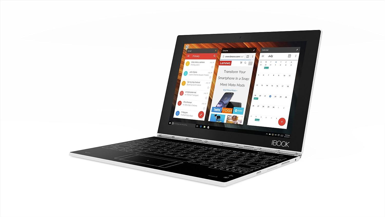Lenovo Yoga Book Fhd 101 Windows Tablet 2 In 1 Primary Personal Computer Hardware Intel Atom X5 Z8550 Processor 4gb Lpddr3 Ram 128 Gb Rom Pearl White Za150289us Computers Accessories