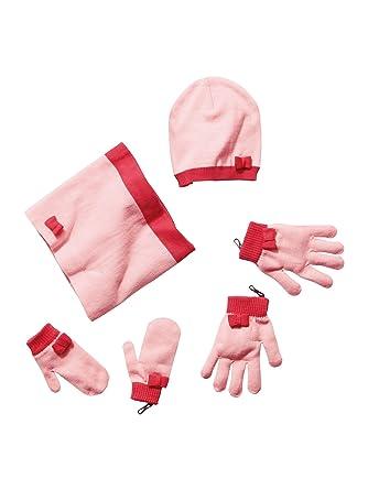 465512fb1a8 Vertbaudet - Ensemble bonnet + tour de cou + gants ou moufles fille ...