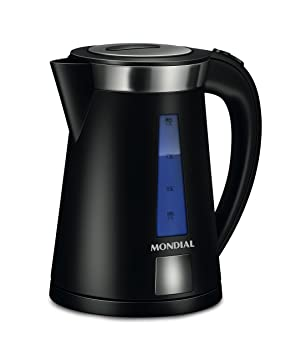 Mondial CE01 Calentador de Agua, 2200 W, Negro