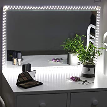 LED Spiegelleuchte,Schminktisch Beleuchtung kit,6000 Kelvin ...