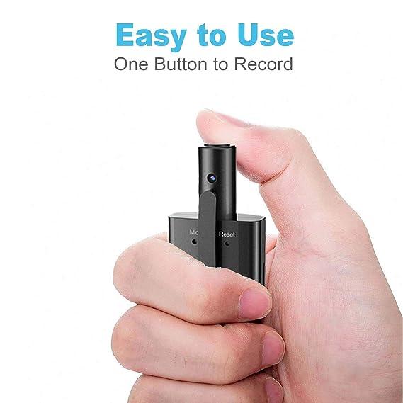 Amazon.com: Mini cámara de cuerpo, PORTOCAM P088 HD Pen ...