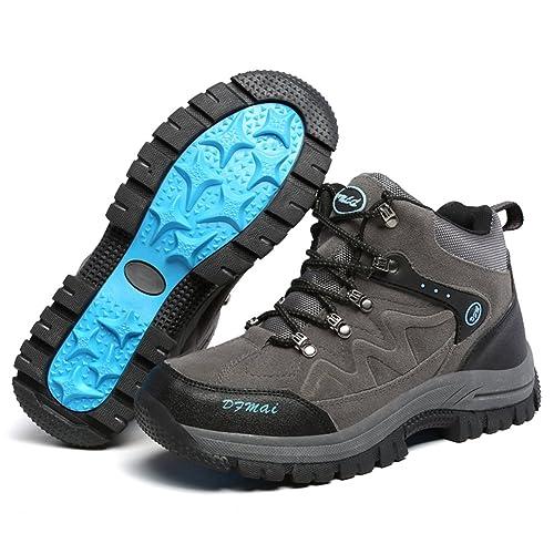 Botas de montaña para hombre Zapatos de montaña montaña de con tacón medio al 2f5d77