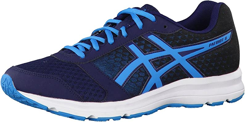 Asics Patriot 8, Zapatillas de Running competición Hombre, Azul (Dark Navy/Blue Jewel/Black), 39: Amazon.es: Zapatos y complementos