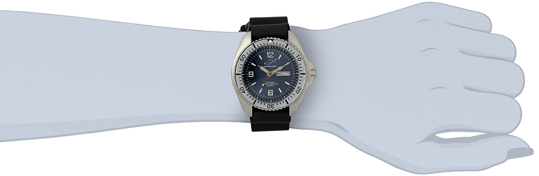 Chris Benz Damen-Armbanduhr XS Analog Edelstahl CBL.S.MB.SW