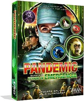 Z-Man Games- Pandemic Estado de Emergencia - Juego de Mesa, Color ...