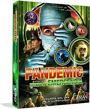 Z-Man Games- Pandemic Estado de Emergencia - Juego de Mesa, Color (ZM7113ES): Amazon.es: Juguetes y juegos