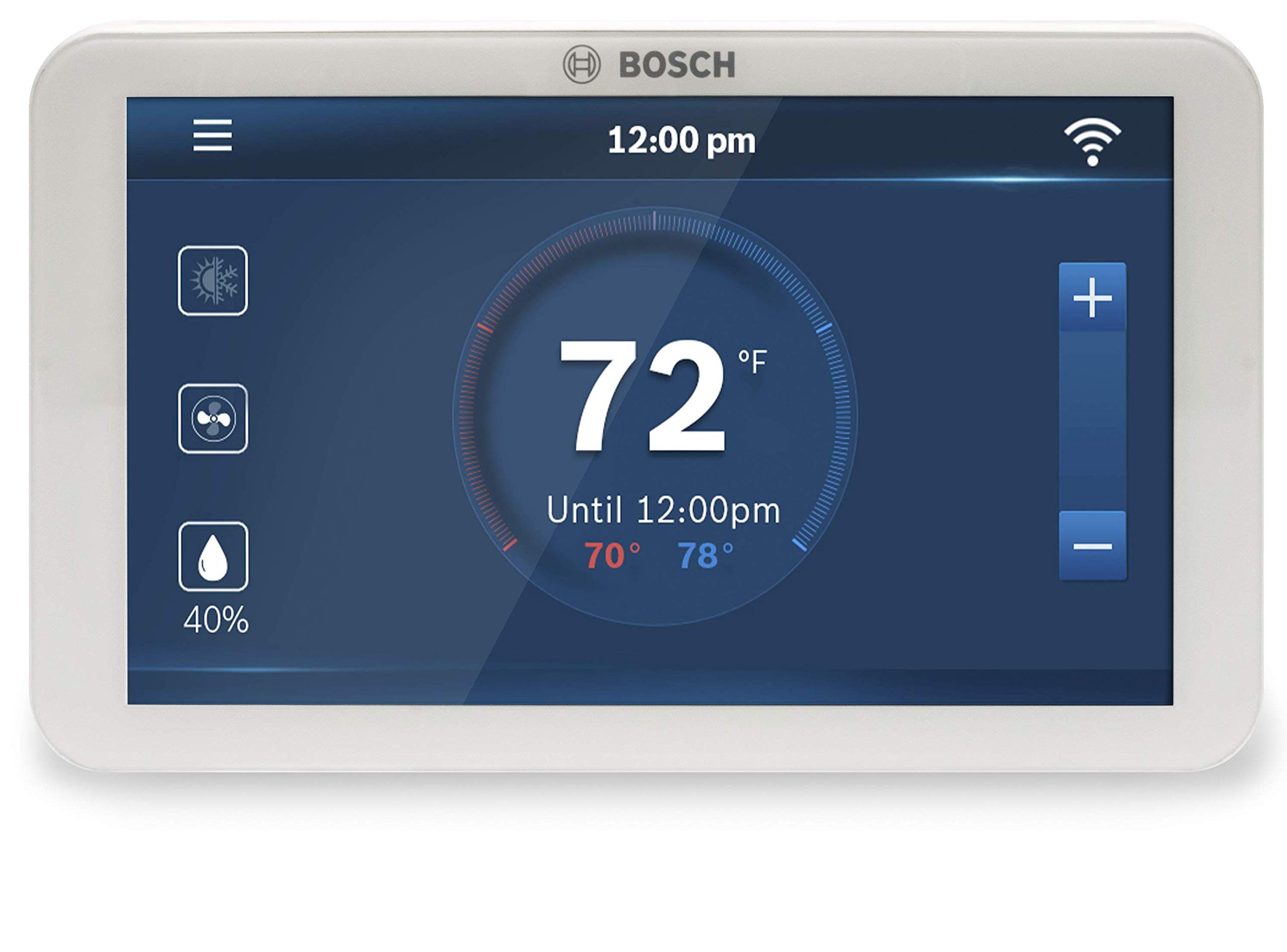 Bosch BCC100 Connected Control Smart Phone Wi-Fi Thermostat - Compatible with Alexa - Touch Screen by Bosch Thermotechnology