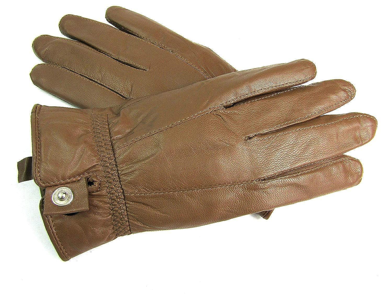 Leather Emporium Damen Lederhandschuhe Weich Voll Gef/üttert