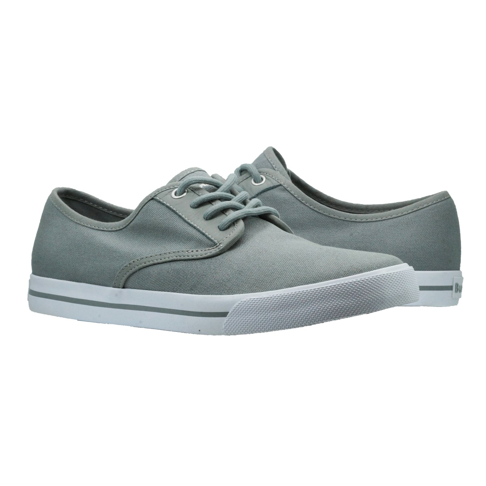 Burnetie Men's Grey Toe Hugger M Low Top Sneaker 12 M US