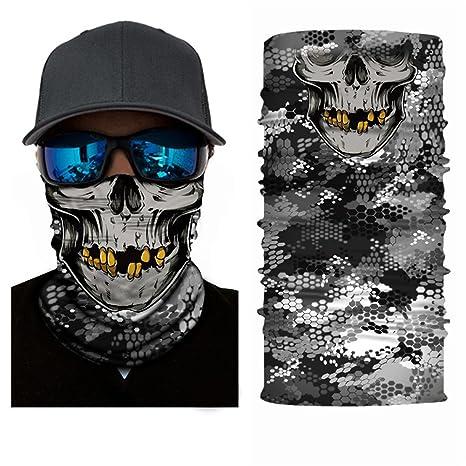 3d Face Sun Mask, Braga, tocado, Magic bufanda, Balaclava, bandana ...