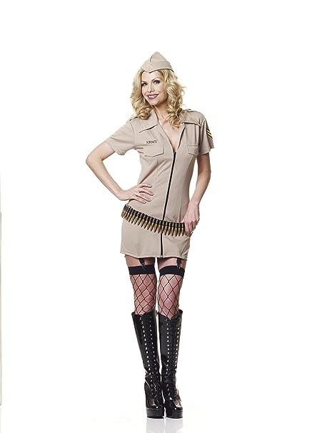 Sofias Closet Ladies Womens corporal Tease traje militar del ...