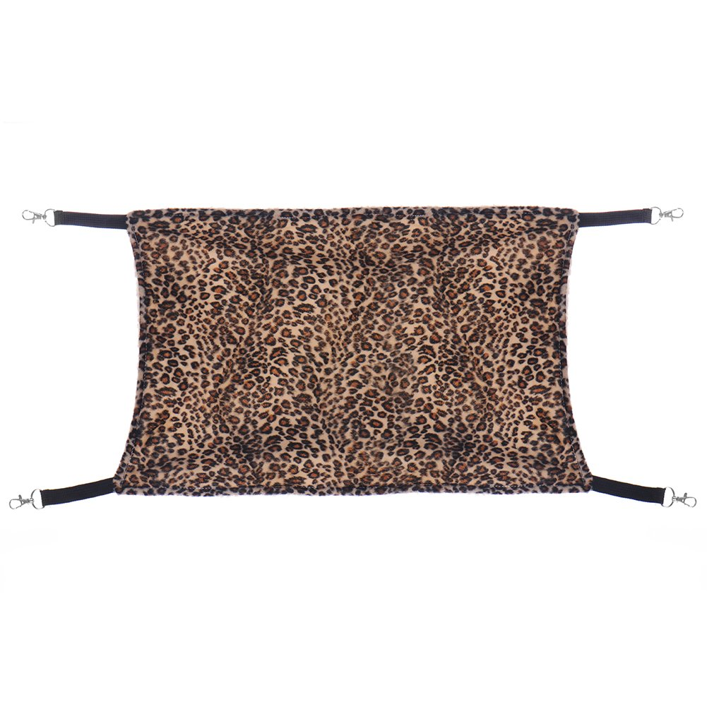 amazon     large leopard cat hammock fur animal hanging cat bed cage  forter ferret pet by molie   pet supplies amazon     large leopard cat hammock fur animal hanging cat bed      rh   amazon