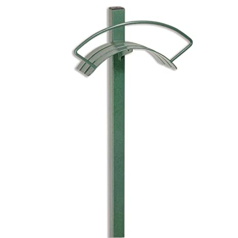 Superieur Yard Butler Heavy Duty Metal Free Standing In Ground Outdoor Hose Hanger  For Tidy No