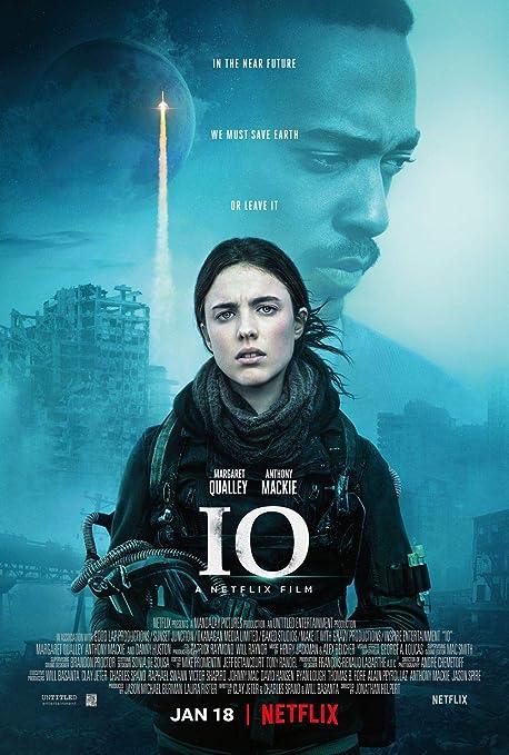 Lionbeen IO Movie Poster Cartel de la Pelicula 70 X 45 cm ...