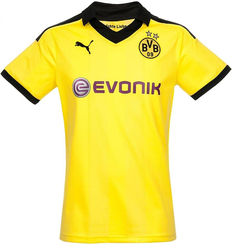 PUMA - Camiseta de fútbol Sala, tamaño XL, Color Amarillo ...