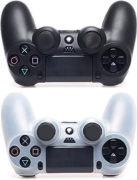 MyGadget 2X Funda Carcasa para Mando PS4 Dualshock Piel Protectora de Silicona: Amazon.es: Electrónica