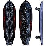 "Kahuna Creations - Shaka Kahili Surf Land Paddle Board 46"" | Complete Longboard Skateboard Cruiser"