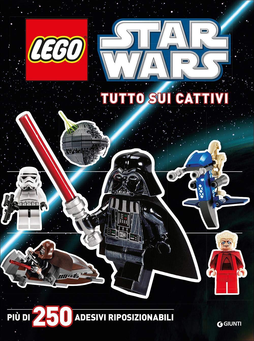 Tutto Sui Cattivi Star Wars Lego Con Adesivi 9788898937233 Amazon Com Books