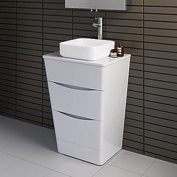 Prime 600Mm Bathroom Furniture Countertop Vanity Unit Gabriela Basin Gloss White Floor Standing Download Free Architecture Designs Ogrambritishbridgeorg