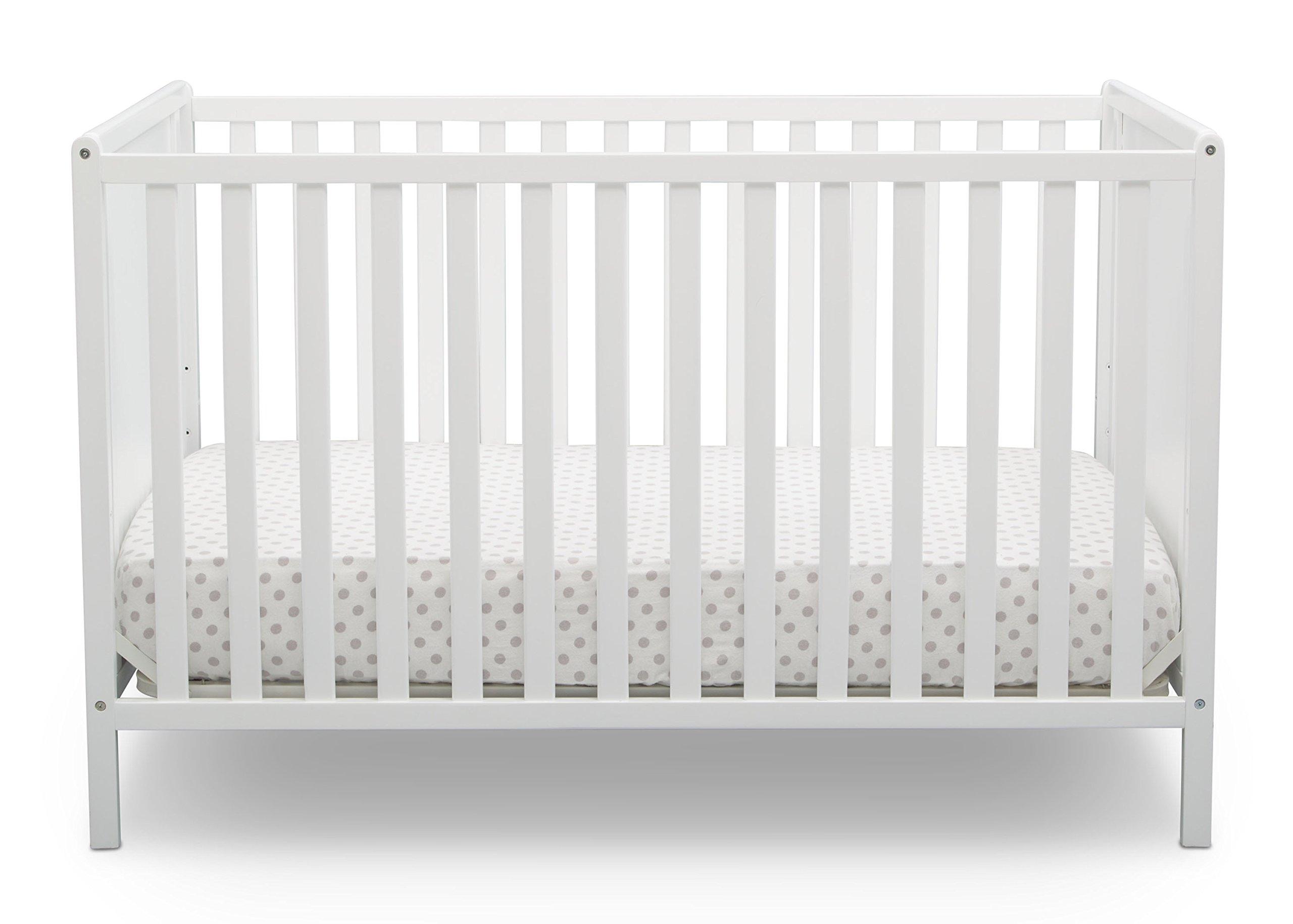 Delta Children Logan 4 in 1 Convertible Crib Bianca White by Delta Children (Image #1)