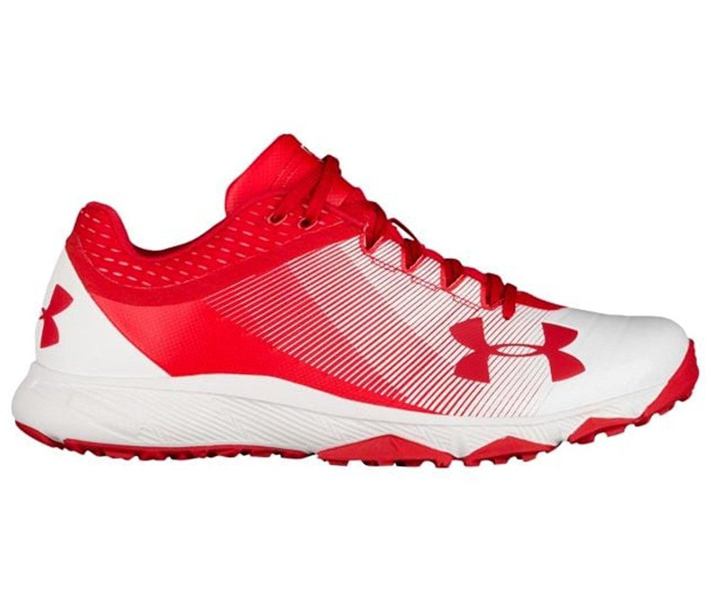 Under Armour Yard Trainer 2017   Red/White   (アンダーアーマー ヤード トレーナー  赤 / 白  /野球 トレーニングシューズ) [並行輸入品] B075D6VZM7 28cm(US10)