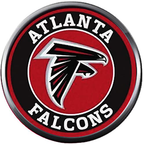 Amazon.com: NFL Atlanta Falcons - Abalorio de fútbol con ...