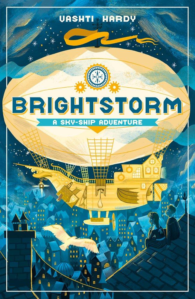 Brightstorm: A Sky-Ship Adventure Sky Ship Adventure 1: Amazon.co.uk:  Hardy, Vashti: Books