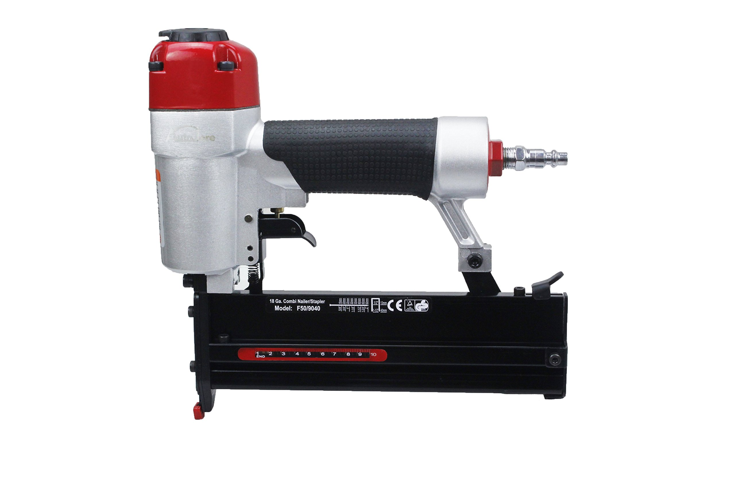 Brad Nailer & Air Stapler AUTOJARE 18 Gauge 2 in 1 Pneumatic Stapler/air gun