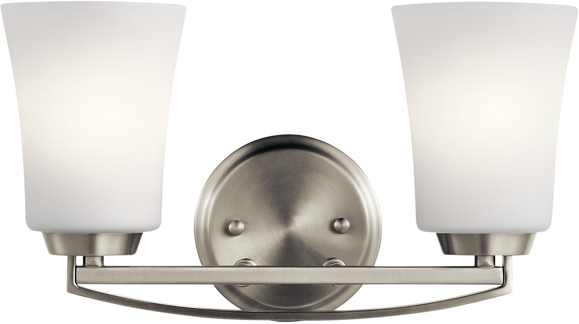 Kichler Lighting 45889NI Two Light Bath from The Tao Collection