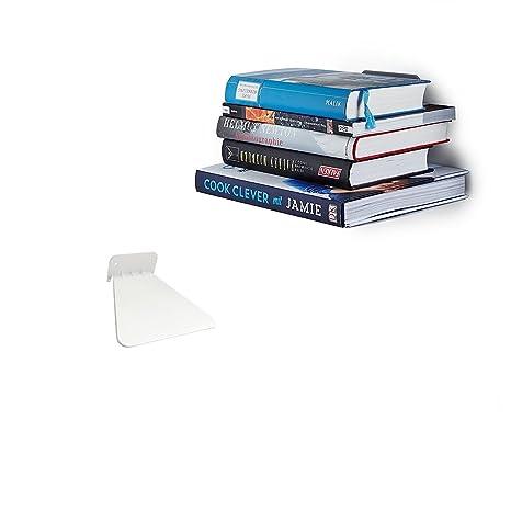 Ducomi étagère Invisible Pour Les Livres étagère Concealed