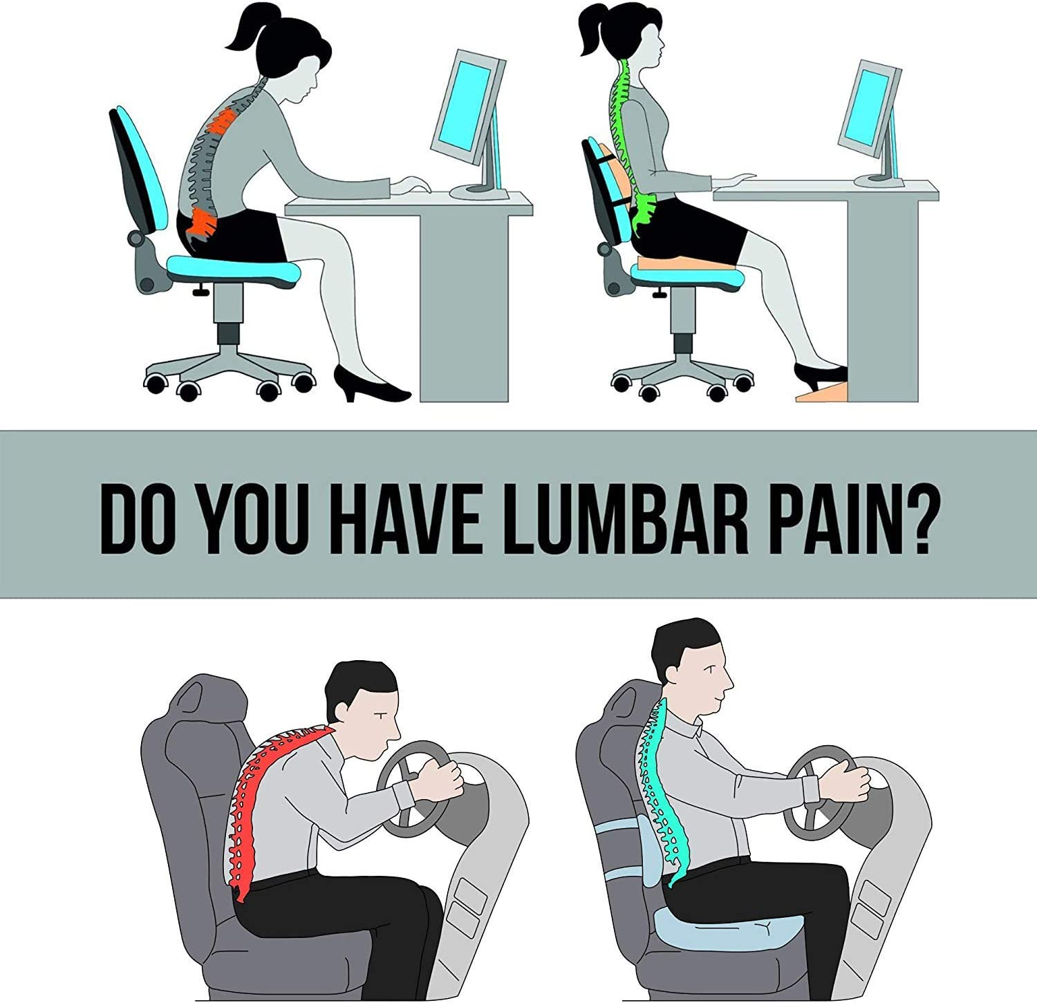 71DyxCJYu L. AC SL1500 - What Are The Best Seat Cushion For Buttock Pain That Help You Sit Comfortably - ChairPicks